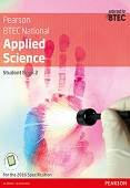 BTEC Level 3 Nationals 2016 Applied Science Student Book 2