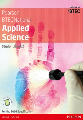 BTEC Level 3 Nationals 2016 Applied Science Student Book 2 | Frances Annets, Joanne Hartley, Chris Meunier, Roy | Pearson