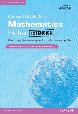 Edexcel GCSE (9-1) Mathematics: Higher Extension Practice, Reasoning and Problem-solving Book | Glyn Payne | Pearson