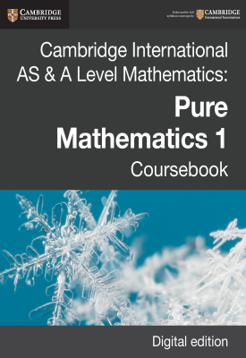 Cambridge International AS & A Level Mathematics: Pure Mathematics 1 Coursebook | Sue Pemberton, Julian Gilbey, Et al | Cambridge‎