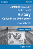 Cambridge IGCSE and O Level History Option B: the 20th Century Coursebook Second Edition