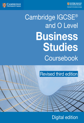 Cambridge IGCSE and O Level Business Studies Revised Coursebook | Mark Fisher, Medi Houghton, Veenu Jain, Et al | Cambridge‎