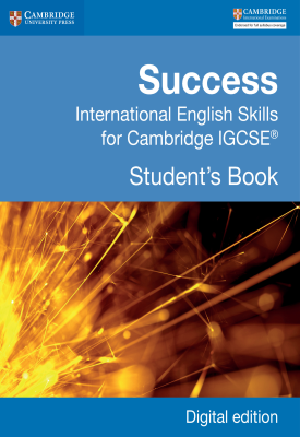 Success International English Skills for Cambridge IGCSE Student's Book Fourth Edition | Marian Barry | Cambridge‎