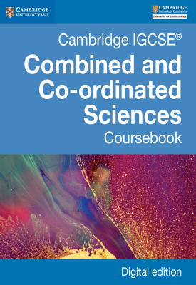 Cambridge IGCSE Combined and Co-ordinated Sciences Coursebook | Mary Jones, Richard Harwood, Ian Lodge, David Sang | Cambridge‎