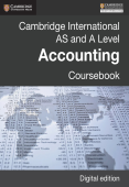 Cambridge International AS and A Level Accounting Coursebook
