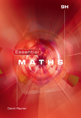 Essential Maths 9H Book | David Rayner | Elmwood