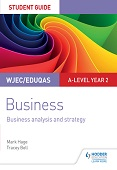 WJEC/Eduqas A-level Year 2 Business Student Guide: Business Analy