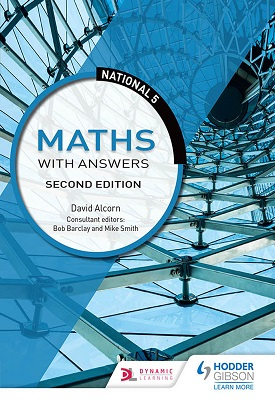 National 5 Maths with Answers: Second Edition | Alcorn, David | Hodder