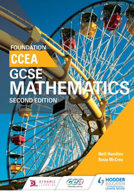 CCEA GCSE Mathematics Foundation for 2nd Edition | Hamilton, Neill; McCrea, Rosie | Hodder