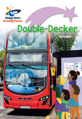 Reading Planet - Double-Decker - Lilac Plus: Lift-off First Words | Gill Budgell | Hodder