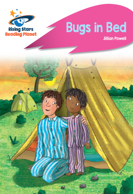 Reading Planet - Bugs in Bed - Pink B: Rocket Phonics | Jillian Powell | Hodder
