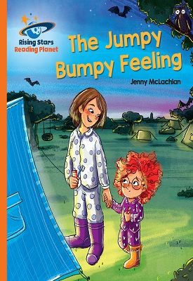 Reading Planet The Jumpy Bumpy Feeling Orange: Galaxy | Jenny McLachlan | Hodder