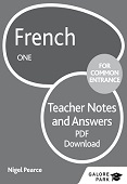 French for Common Entrance One Answers