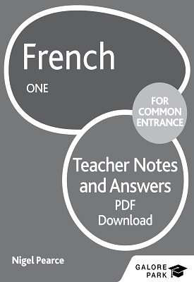 French for Common Entrance One Answers | Nigel Pearce | Hodder