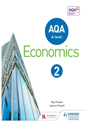 AQA A-level Economics Book 2 | Ray Powell, James Powell | Hodder