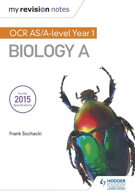 My Revision Notes: OCR AS Biology A Second Edition | Frank Sochacki | Hodder