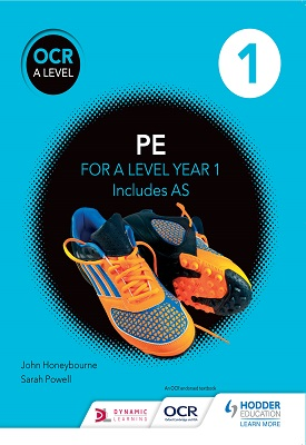OCR A Level PE Book 1 | John Honeybourne,  Sarah Powell | Hodder