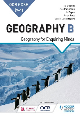 OCR GCSE (9-1) Geography B: Geography for Enquiring Minds | Alan Parkinson, Jo Coles | Hodder
