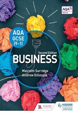 AQA GCSE (9-1) Business, Second Edition | Malcolm Surridge,  Andrew Gillespie | Hodder