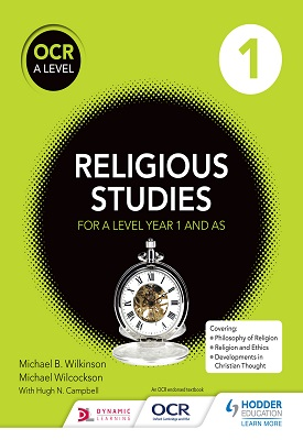 OCR Religious Studies A Level Year 1 and AS | Hugh Campbell, Michael Wilkinson | Hodder