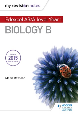 My Revision Notes: Edexcel AS Biology B | Rowland, Martin | Hodder