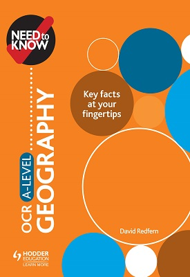 Need to Know: OCR A-level Geography | David Redfern | Hodder