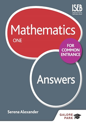 Mathematics for Common Entrance One Answers | Serena Alexander | Hodder