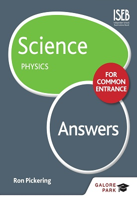 Science for Common Entrance: Physics Answers | Ron Pickering | Hodder