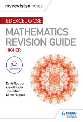 Edexcel GCSE Maths Higher: Mastering Mathematics Revision Guide | Keith Pledger | Hodder