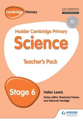 Hodder Cambridge Primary Science Teacher's Pack 6   Rosemary Feasey   Hodder
