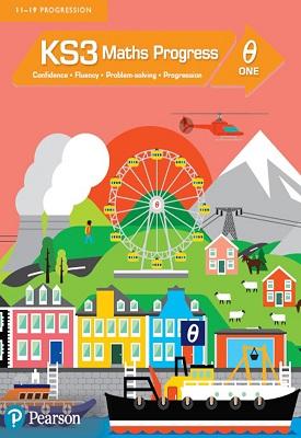 KS3 Maths Progress Student Book Theta 1 | Gwenllian Burns, Greg Byrd, Lynn Byrd | Pearson