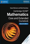 Cambridge IGCSE Mathematics Core and Extended Coursebook
