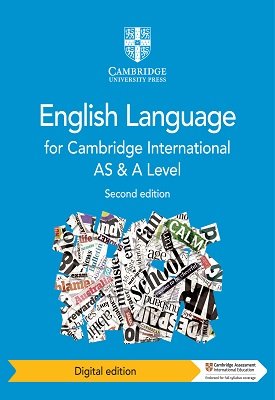 Cambridge International AS and A Level English Language Coursebook | Mike Gould, Marilyn Rankin | Cambridge‎