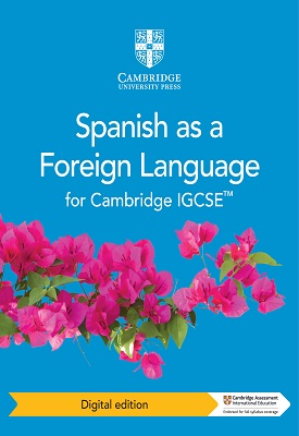 Cambridge IGCSE Spanish as a Foreign Language Coursebook (2019) | Manuel Capelo, Víctor González | Cambridge‎