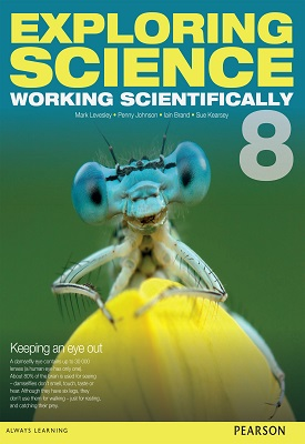 Exploring Science: Working Scientifically Student Book Year 8 | Mark Levesle,P Johnson, Susan Kearsey, Iain Brand | Pearson