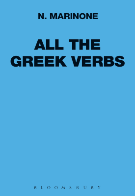 All the Greek Verbs | N. Marinone | Bloomsbury