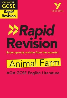 York Notes for AQA GCSE (9-1) Rapid Revision: Animal Farm | Keith Brindle | Pearson