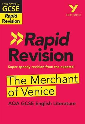 York Notes for AQA GCSE (9-1) Rapid Revision: The Merchant of Venice | Mike Gould | Pearson