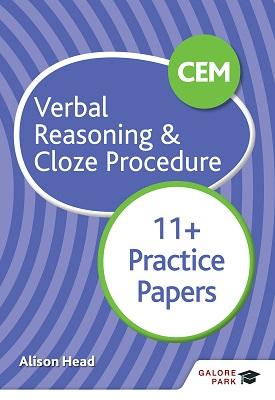 CEM 11+ Verbal Reasoning & Cloze Procedure Practice Papers | Alison Head | Hodder