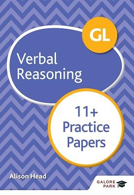 GL 11+ Verbal Reasoning Practice Papers   Alison Head   Hodder