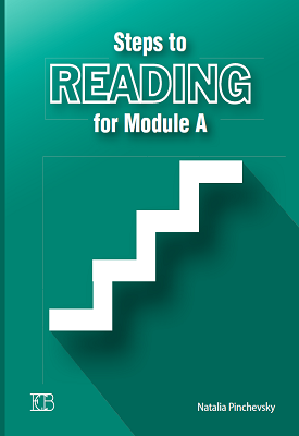Steps to Reading for Module A - Practice book | Natalia Pinchevsky | Eric Cohen Books