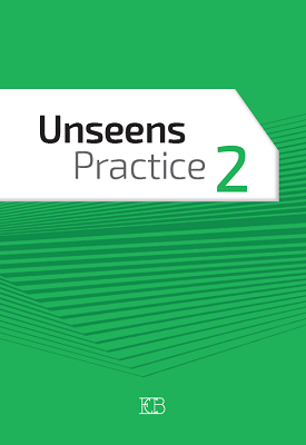 Unseens Practice 2 | Harriet Coddington,  Jacqueline Pnina Cohen | Eric Cohen Books
