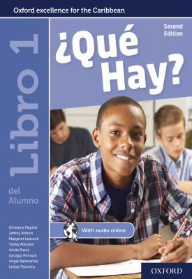 ¿Qué Hay? Libro del Alumno 1 | Christine Haylett | Oxford University Press