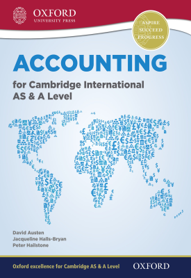 Accounting for Cambridge International AS and A Level | Jacqueline Halls-Bryan, Peter Hailstone, | Oxford University Press