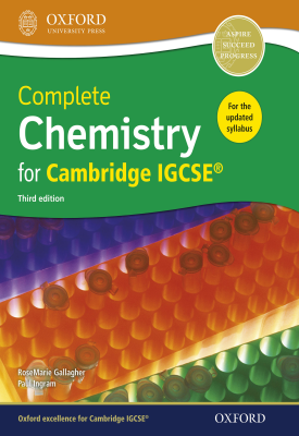 Complete Chemistry for Cambridge IGCSE® | RoseMarie Gallagher, Paul Ingram, | Oxford University Press