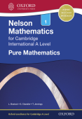 Nelson Mathematics for Cambridge International A Level: Pure Mathematics 1