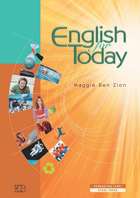 English for Today, Foundation Level, Stage 3 - Student Book | Meggie Ben Zion | Eric Cohen Books