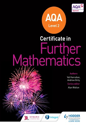AQA Level 2 Certificate in Further Mathematics | Andrew Ginty, Val  Hanrahan, | Hodder