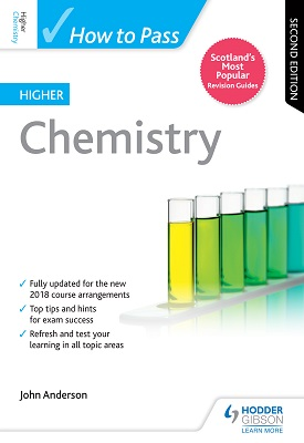 How to Pass Higher Chemistry: Second Edition | John Anderson | Hodder