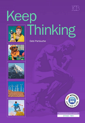 Keep Thinking - Student Book | Debi Partouche | Eric Cohen Books
